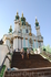 Андреевская церковь (1749-1754). По легенде в Андреевской церкви нет колоколов, так как при первом же ударе вода может проснуться и залить Киев.