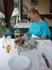 """Шашлык в кафе """"Багульник"""". Очень вкусный.Готовили на глазах, шашлычник раздувал угли феном.Интересно наблюдать"""