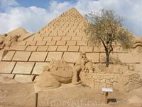 Фестиваль песчаных скульптур в Альбуфейре -Египет
