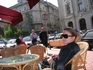 Bucharest, downtown, cafe...