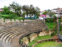 амфитеатр древнего античного города Лихнидос