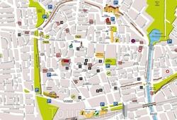 Туристическая карта Болоньи