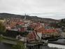 Вид со смотровой площадки замка на центр города