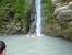 Если подняться вверх по течению ручья Руфабго, то можно увидеть большой камень, который перегораживает ручей. Камень называют Сердцем великана, об этом сложена такая легенда. В давние времена жил в эт