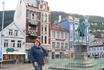 на одной из городских площадей Бергена