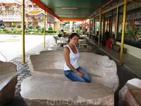 каменная мебель в китайском храме