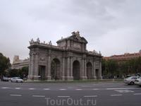 Мадрид. Ворота Алкала