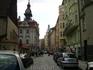Улицы Праги, где-то рядом с Еврейским кварталом