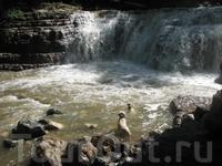 Иджеван,с.Енокаван,водопад на р.Хачахпюр