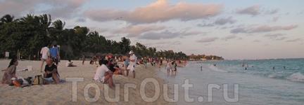 пляжи Плайя дель Кармен