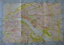 Карта центральной части Дубаи