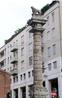 Перед входом в церковь можно увидеть колонну, на которой возвышается лев. Данная колонна украшала главные городские ворота Милана. Лев символизировал власть ...