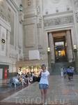 Ах, что за чудо - Миланский вокзал. Не покидает ощущение, что ты в музее...
