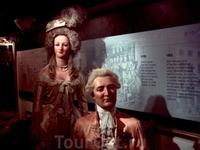 Мадам Тюссо с супругом в молодости