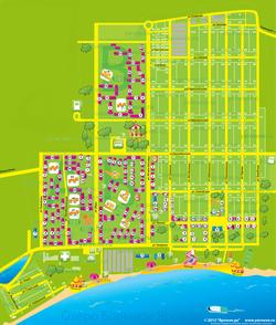 Карта Яровое с улицами