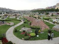 Вид на парк Миниатюрк