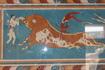 Панно «Игры с быком» копия, оригинал перемещен в Ираклионский Археологический музей
