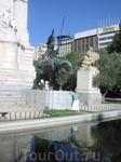 Памятник Сервантесу