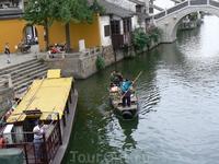 Пригород Щанхая. Восточная Венеция.