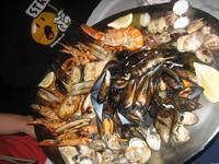 ассорти из морепродуктов, просто объедение