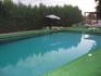 вот такой простенький был бассейн :)  отель тоже достаточно простой, но тихий и атмосфера какая-то душевная там была ))