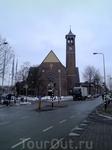 Утрихт, небольшой город, одна остановка от Амстердама поездом, билет туда обратно 14 евро.