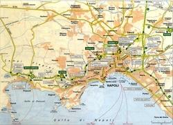 Неаполь на карте