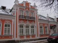 В этом домике расположен музей Коненкова.