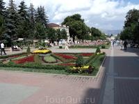 Улицы Кисловодска