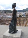 Памятник актрисе