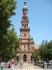 Колокольня в парке Марии-Луизы