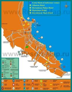 Карта города Херсониссос