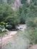 Гуамское ущелье. Река окутанная зеленью.