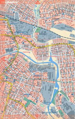 Карта Иваново