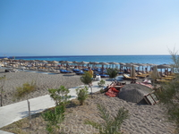 пляж г. Родос Средиземное море
