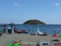 Пляж в Магалуфе.