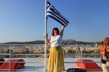 Ура, я  в Греции!