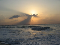Закат над Персидским заливом