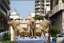 фонтанные львы