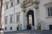 Рим.Площадь Квиринале,дворец Квиринале-резиденция  президента  Италии.