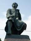 Фотография Памятник М.В. Ломоносову на Университетской набережной