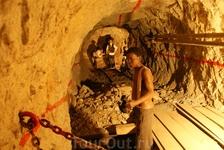 В шахте вам покажут, как все было...