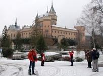 Бойницкий замок. Перестроен в 1910 г. в стиле французских замков Луары