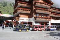 Такси-электромобили в Церматте