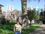 Внутренний сад Вестминстерского аббатства- самый старый в Лондоне