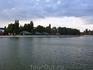Вида на берег с прогулочного катера, Ейский лиман.
