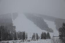 Гора «Туманная», длинна: 1300 м, перепад высот: 346 м, тип подъемника: бугельный. Этот новый район катания в Горной Шории был открыт в 2004 году. Находится ...