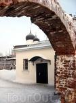 Зима в Михаило-Клопском монастыре