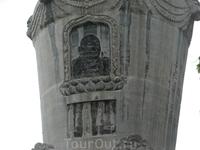 Пагода последнего Учителя, очень продвинутого технически монаха.
