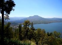 Вулкан Батур, который извергается раз в десять лет . Индонезия, БАЛИ